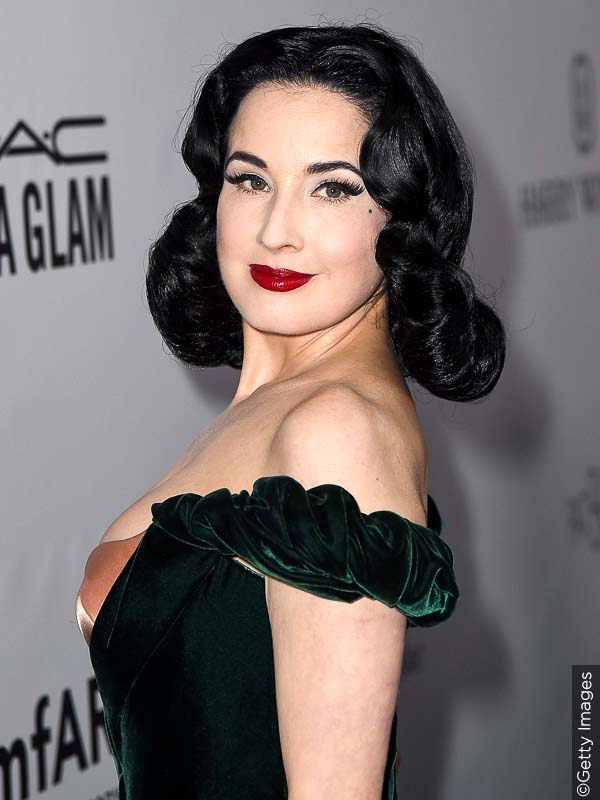 Long Length Dita von Teese