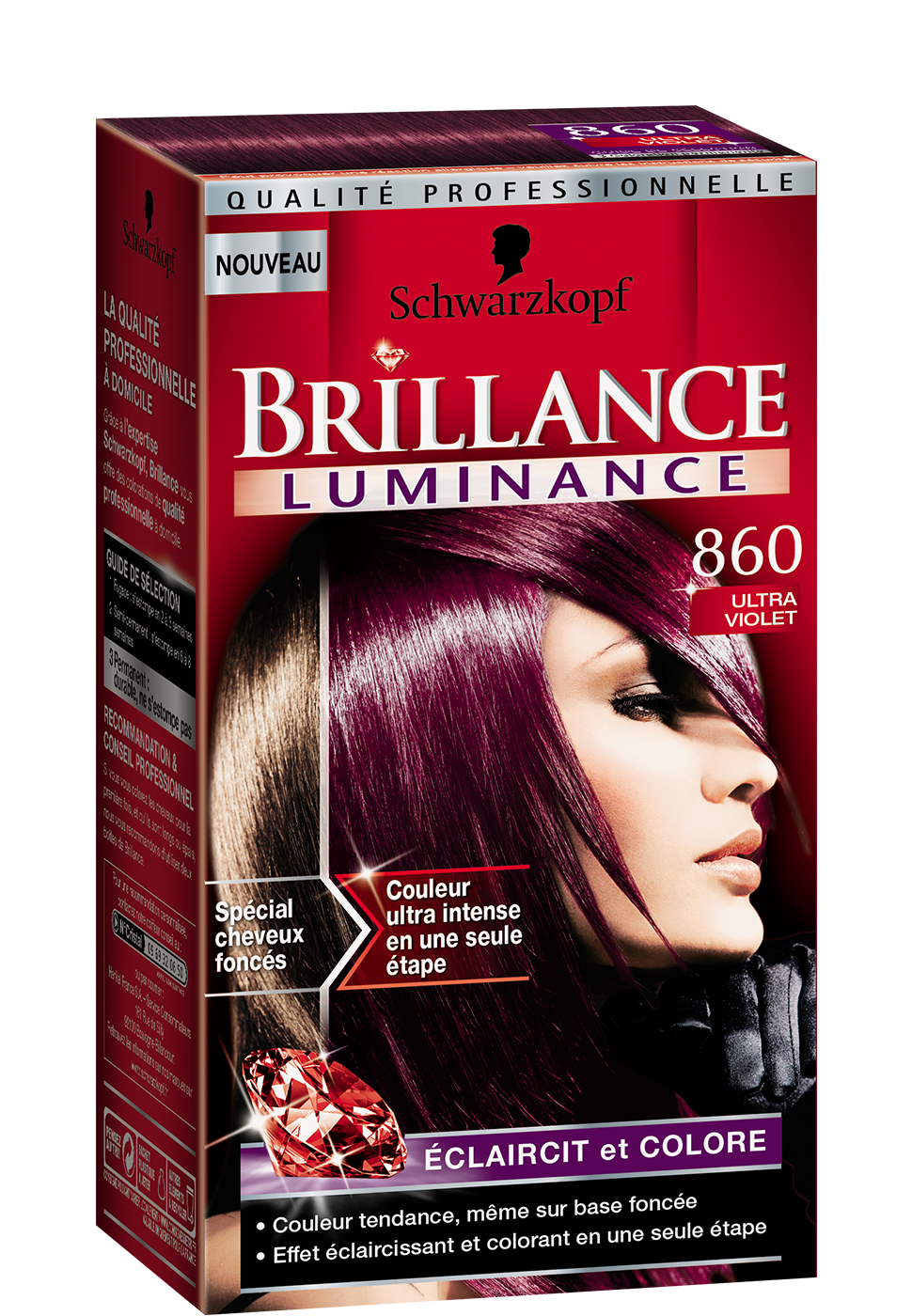 Brillance Intensiv Color Creme 811 Scandinavia Blond