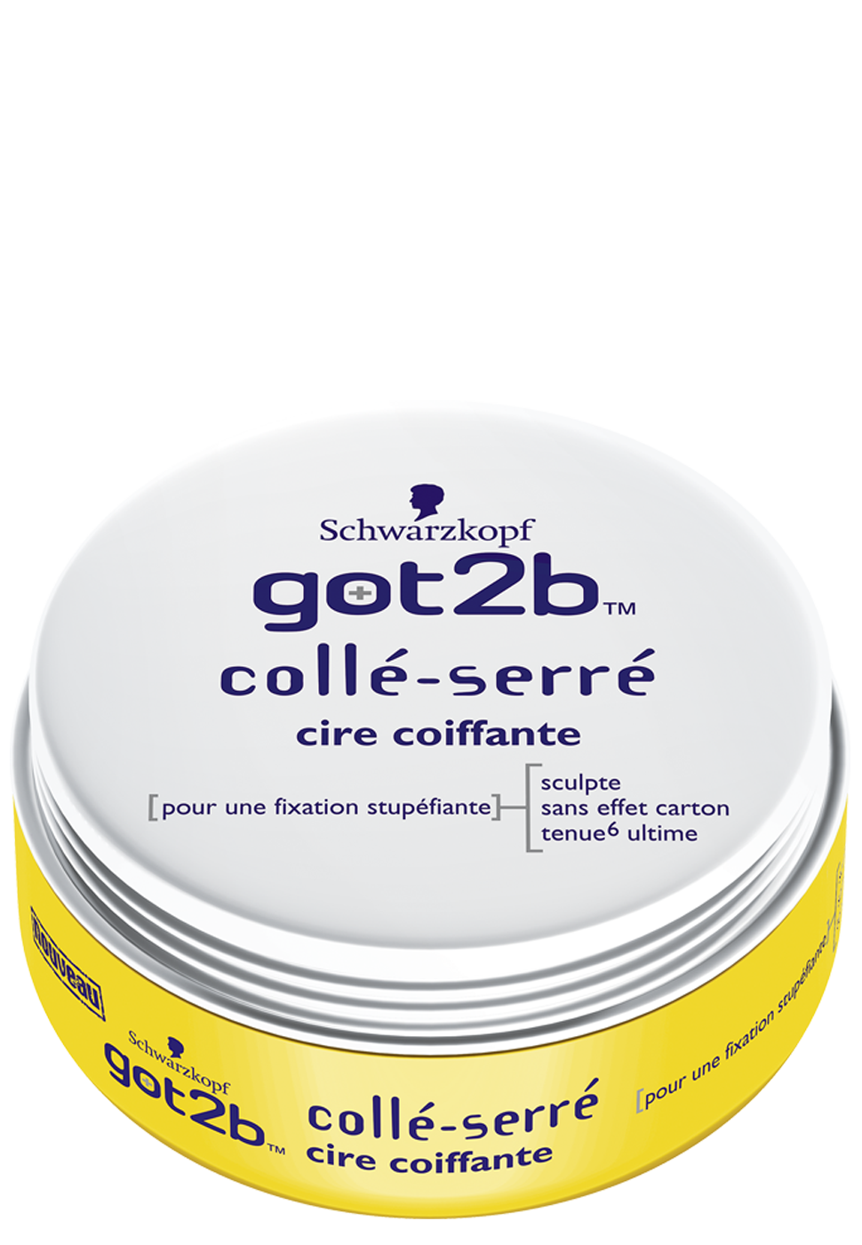 Got2be - Collé serré - Cire coiffante