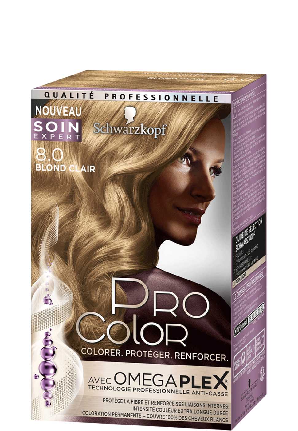 Pro Color 8-0 Blond Clair