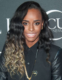 Coiffure bicolore : Angel Haze